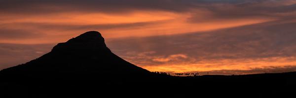 LIon's Head Sunset