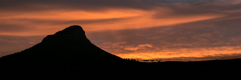 LIon's Head Sunset