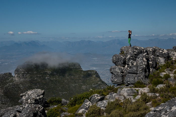 Table mountain vista.