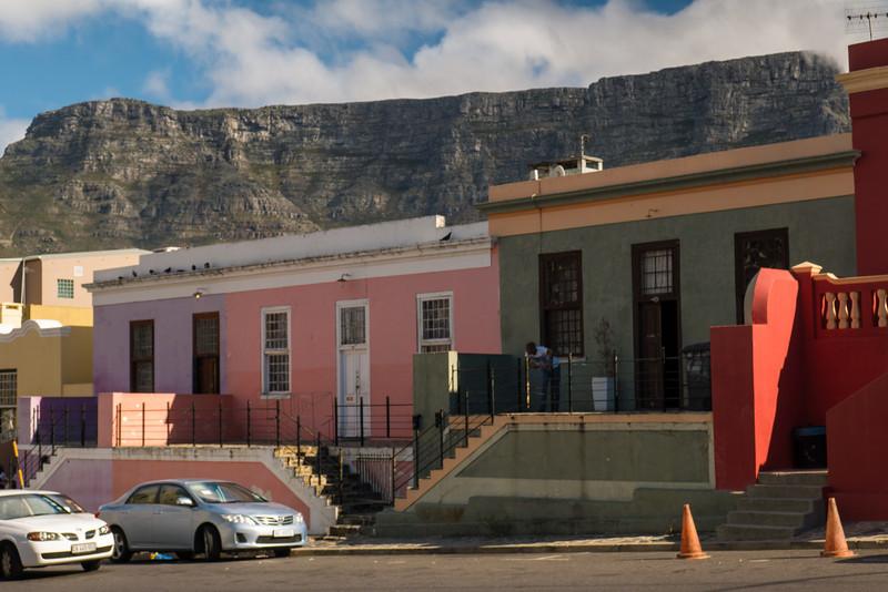 Bo-Kaap Neighbood in Cape Town