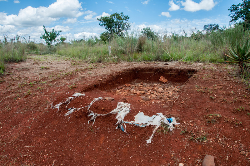 Excavation site at Cradle of Humankind in Johannesburg, South Africa