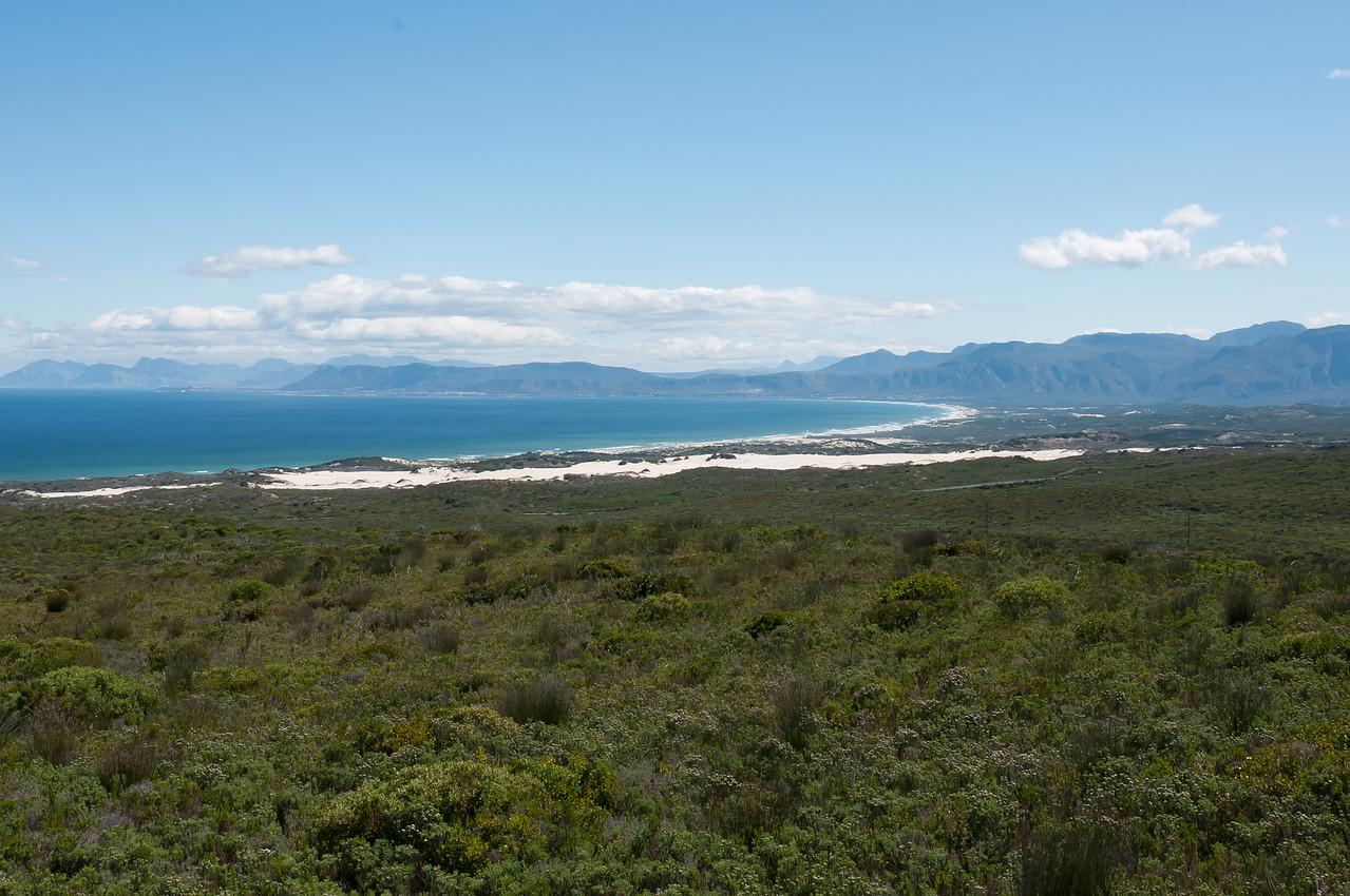 Scenery in Hermanus, South Africa