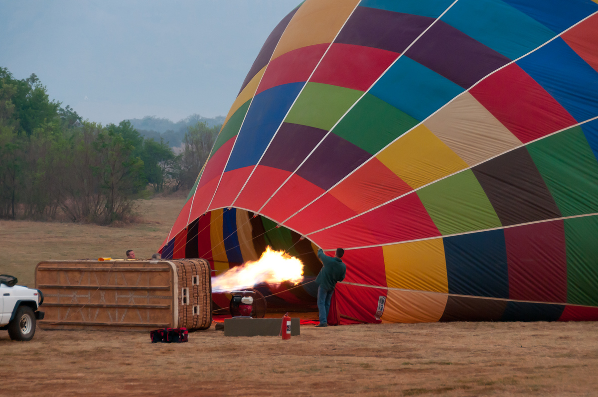 photo essay hot air ballooning in south africa save