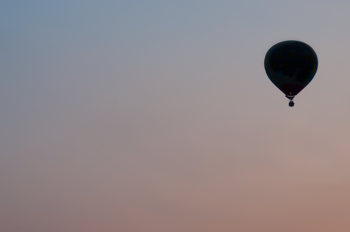 Balloon against the sky