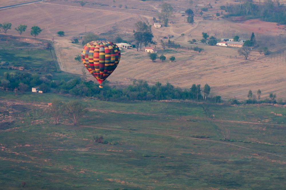 Balloon over the veld