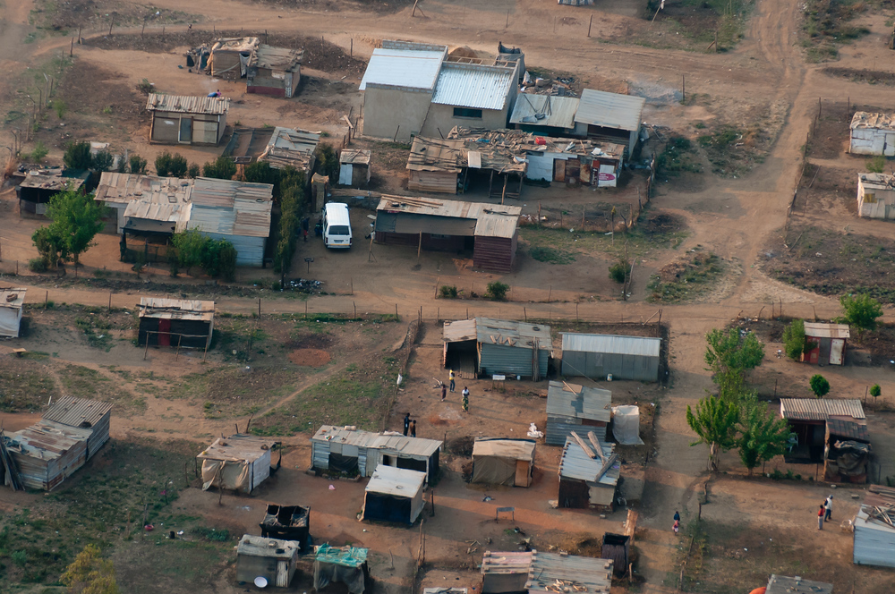 Township from the air