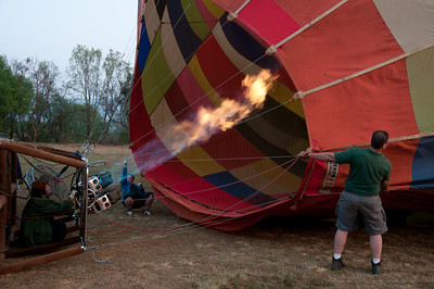 Hot air ballooning in South Africa