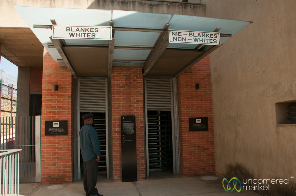 Apartheid Museum Entrance - Johannesburg, South Africa