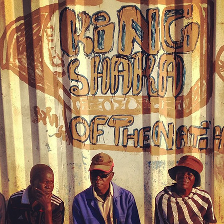 Late afternoon, let's meet under the King Shaka sign - Soweto #SouthAfrica