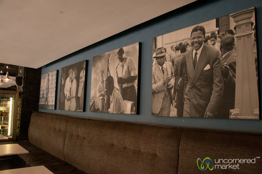 Nelson Mandela Photos at SophiaTown - Johannesburg, South Africa