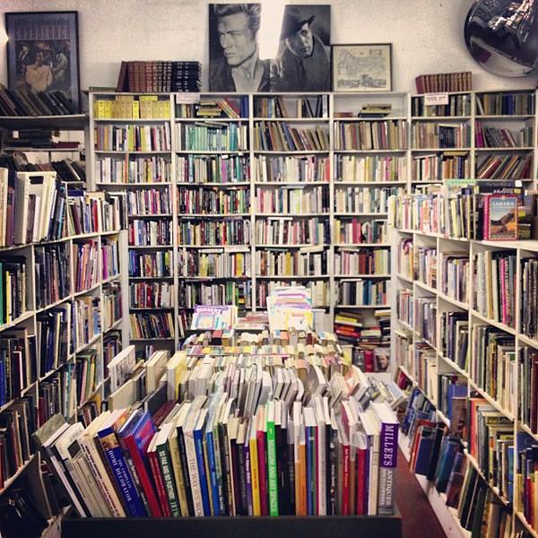 Our dream living room. Or, Book Dealers of Melville, Johannesburg #sendfoodimnotleaving