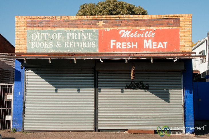 Shop Fronts in Melville, Johannesburg
