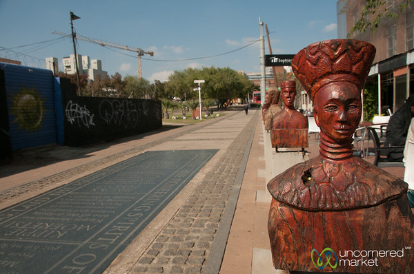 Public Art in Downtown Johannesburg, South Africa