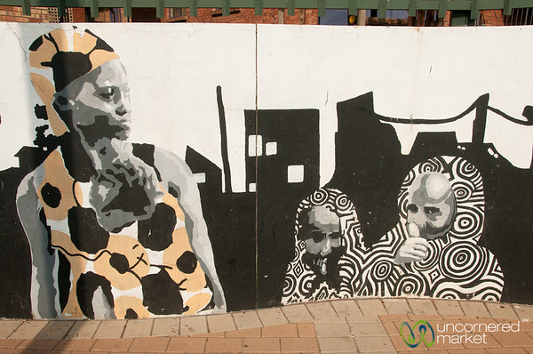 Street Art in Johannesburg, South Africa
