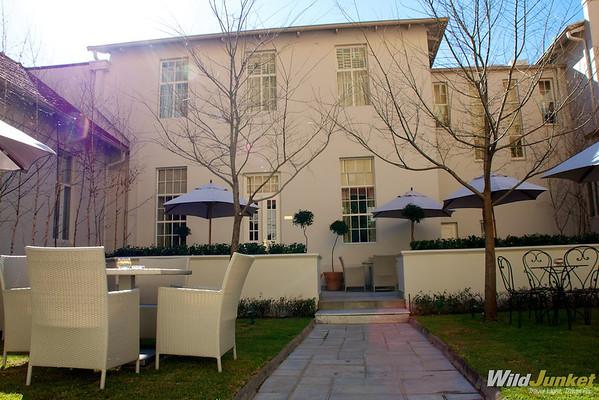 Backyard at Monarch Hotel