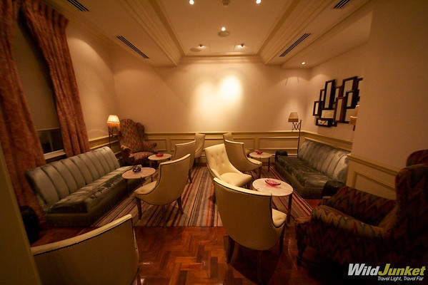 One of the Many Sitting Areas at Monarch Hotel