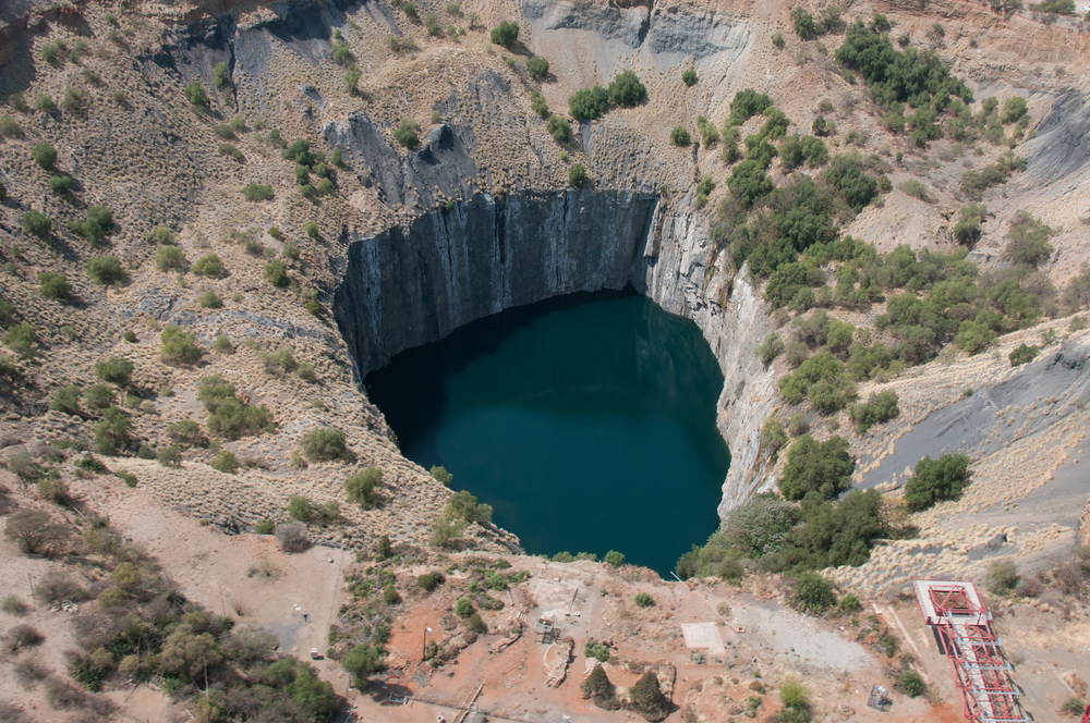 The Big Hole in Kimberly, South Africa.
