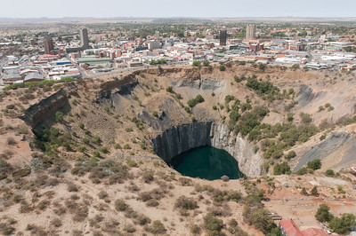 The Big Hole in Kimberley, South Africa