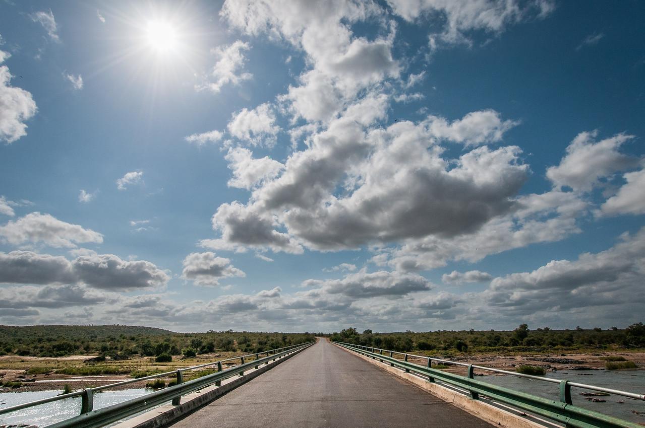 Olifants River bridge in Kruger National Park