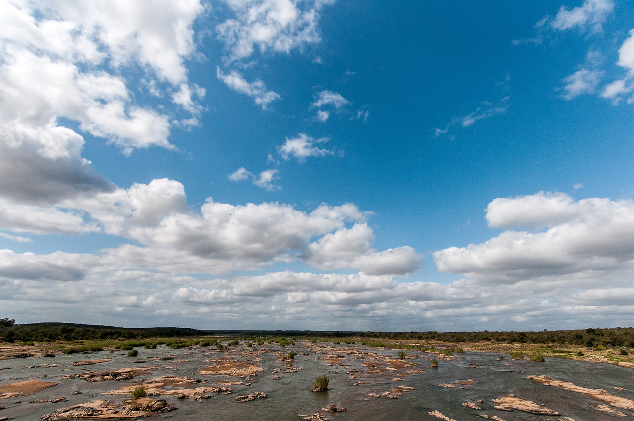 Landscape in Kruger National Park