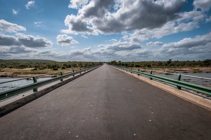 Olifants River bridge in Kruger National Park