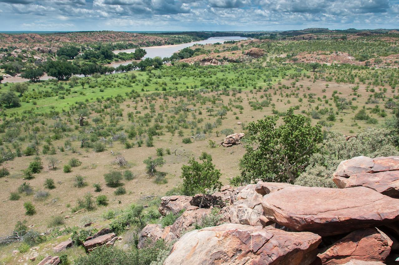 Landscape at Mapungubwe National Park, Limpopo, South Africa