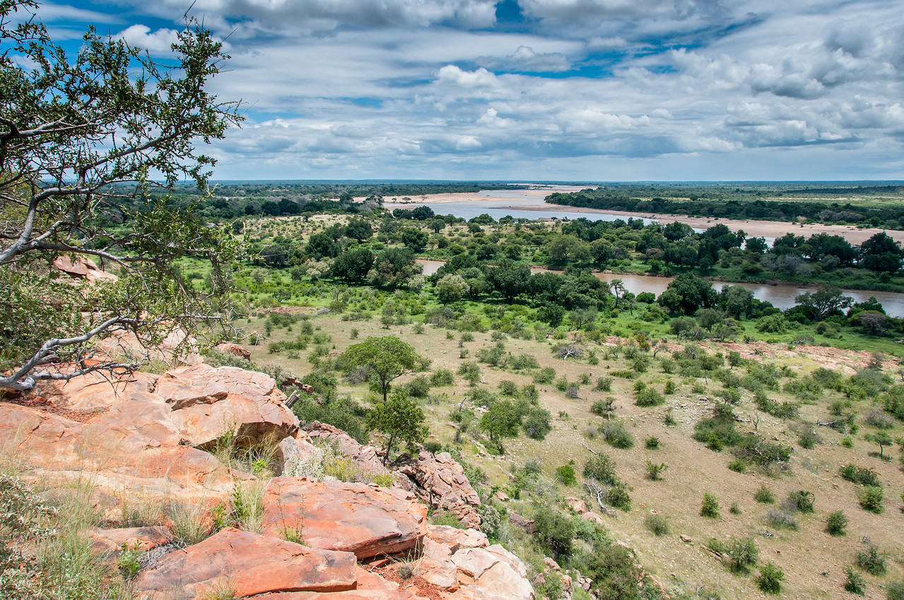 Landscape at Mapungubwe National Park, South Africa