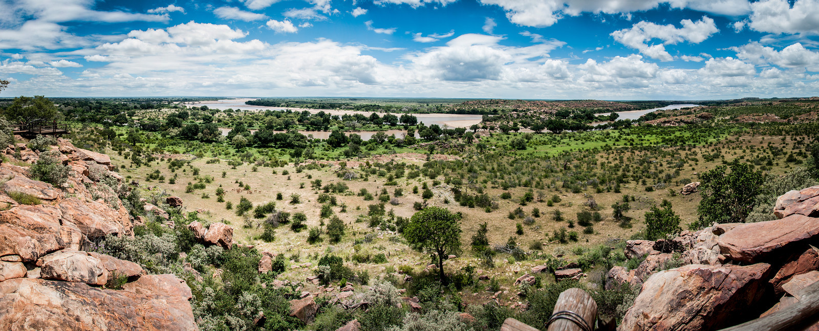 Panorama of Mapungubwe National Park, Limpopo, South Africa