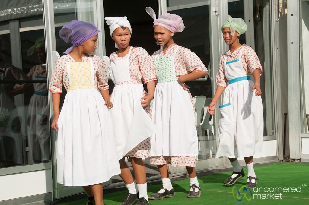 Girls Dancing Nama Dance - Northern Cape, South Africa