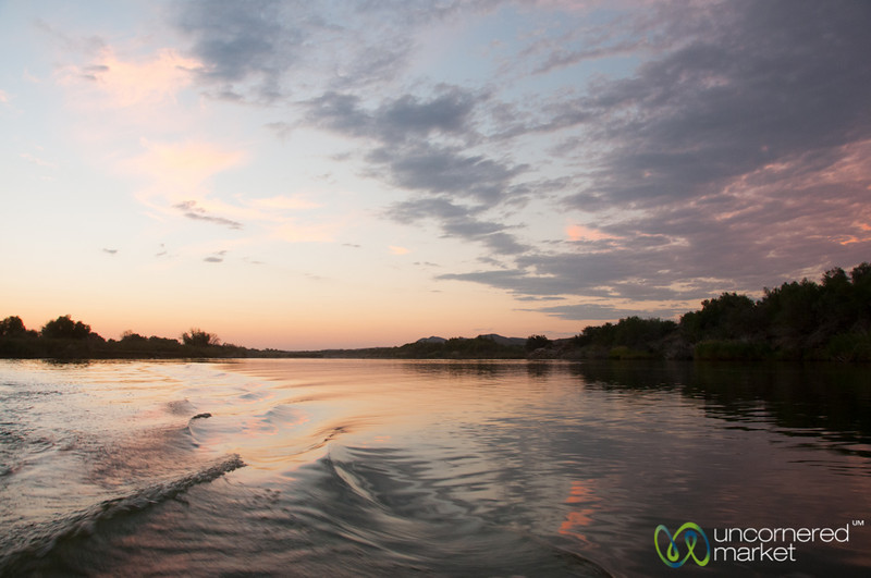 Orange River at Dusk - Northern Cape, South Africa