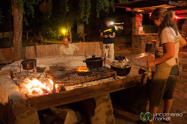 Traditional South African Braai - Northern Cape, South Africa
