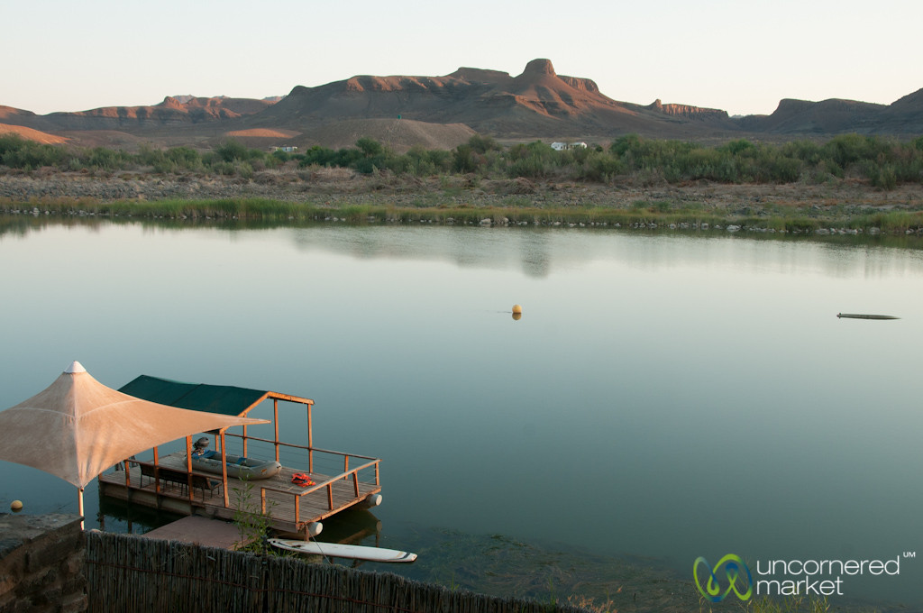 Morning Over Orange River - Northern Cape, South Africa