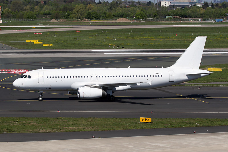 "ZS-GAL Airbus A320-231 ""Global Aviation"" c/n 0064 Dusseldorf/EDDL/DUS 19-04-19"