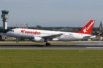 """ZS-GAW Airbus A320-231 """"Global Aviation"""" c/n 0054 Brussels/EBBR/BRU """"Corendon Airlines"""""""