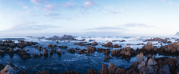 Early morning along the Kleinmond coast