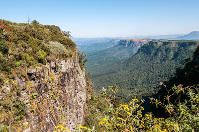 View of Table Mountain in South Africa