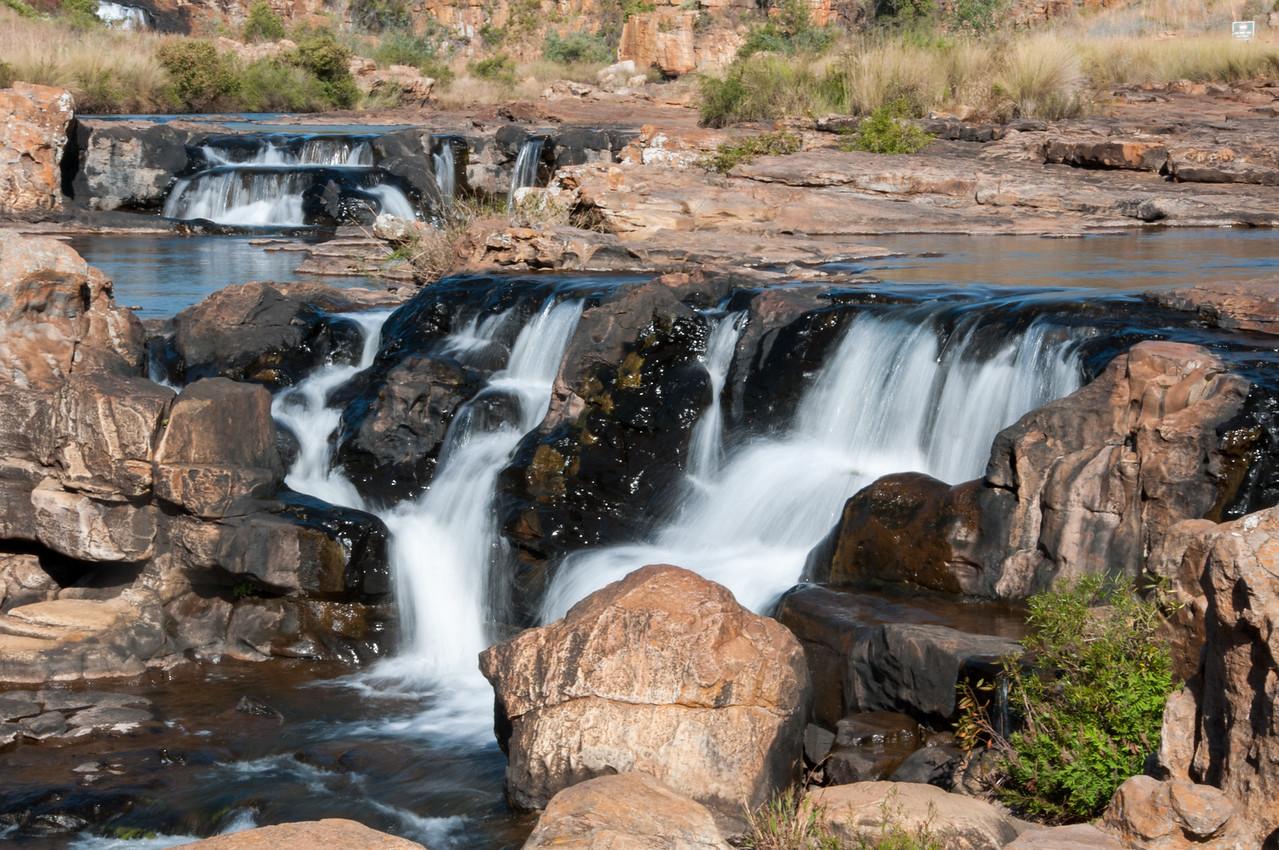 Waterfalls in Mkambati Nature Reserve, South Africa