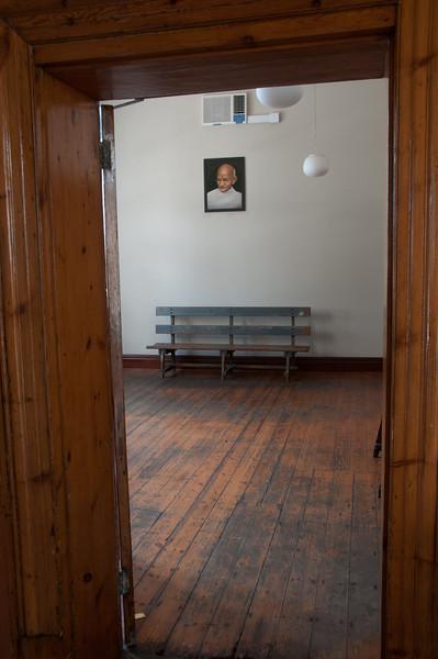 Inside Satyagraha House, aka Gandhi House, in South Africa