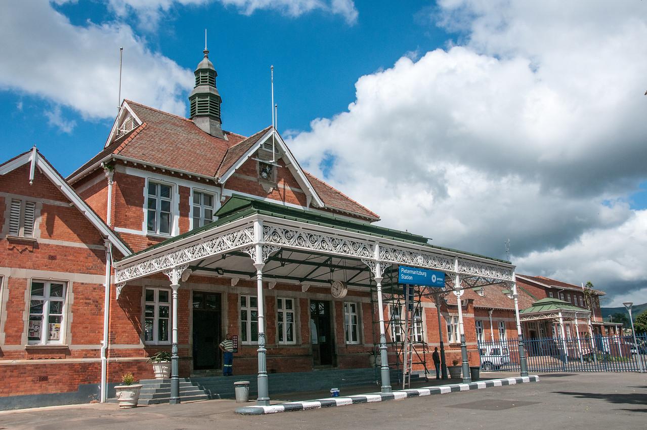 The Pietermaritzburg Train Station in South Africa