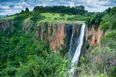 Howick Falls in Pietermaritzburg, South Africa