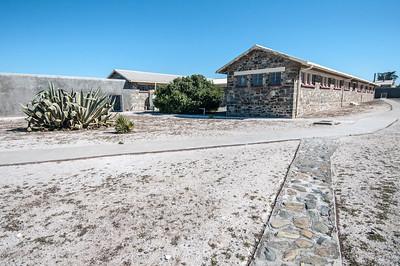 De Waal Battery in Robben Island, South Africa