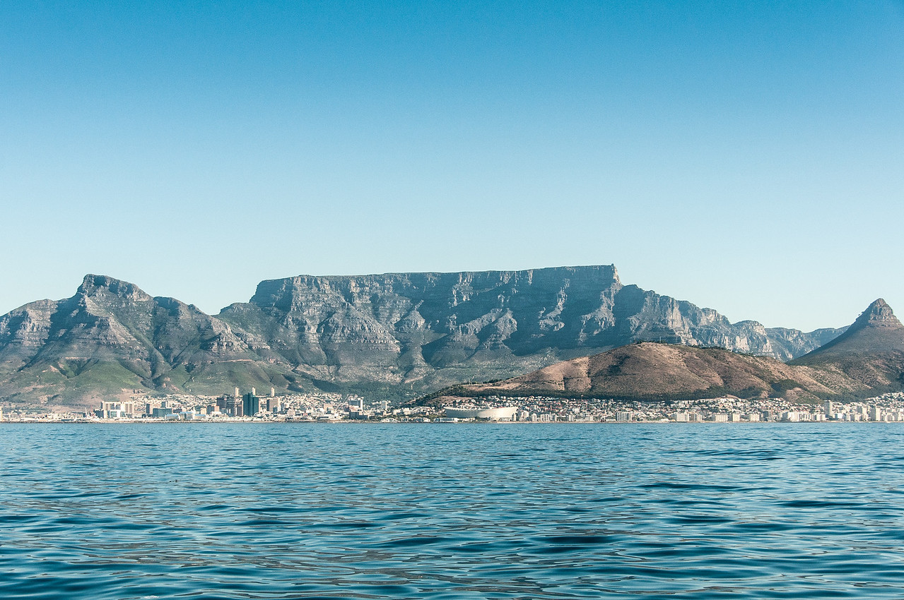 View of Robben Island
