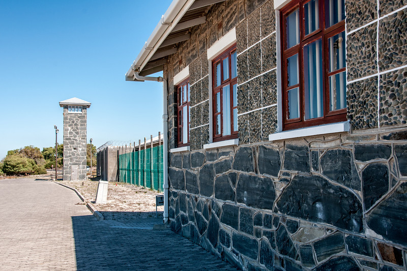 De Waal Battery in Robben Island, South Africa