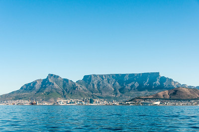 View of Robben Island, South Africa