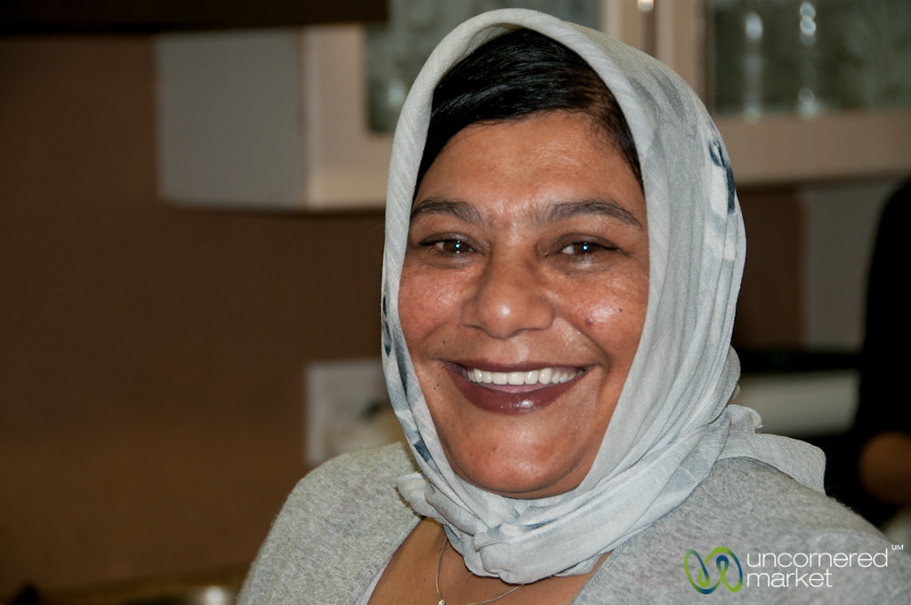 Amina, Our Cape Malay Cooking Host - Bo Kaap, Cape Town