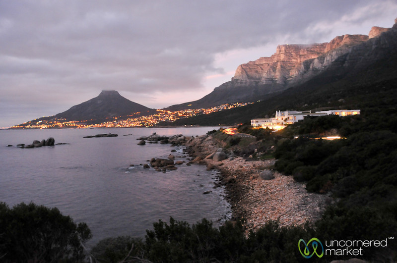 Cape Town Waterfront at Dusk - South Africa