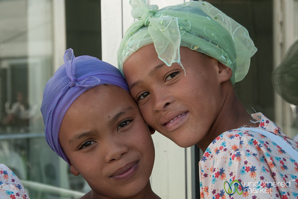Nama Girls after the Dance - Northern Cape, South Africa