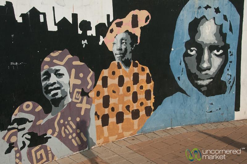 Street Art in Johannesburg, South Africa