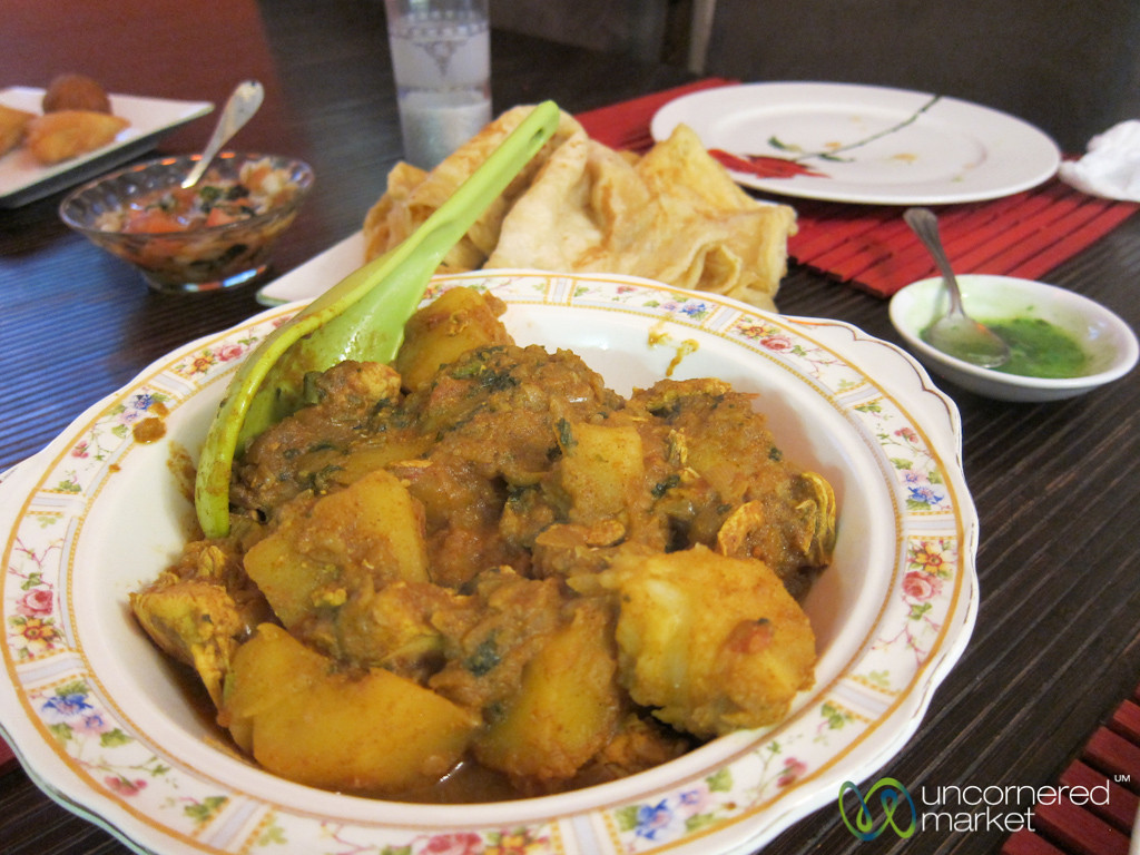 Cape Malay Chicken Curry - Bo Kaap, Cape Town