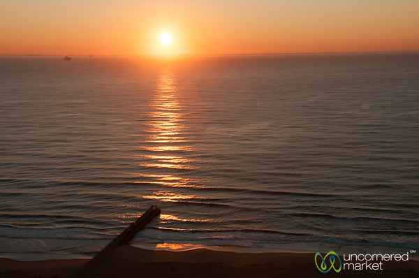 Sunset on the Beach in Durban - South Africa